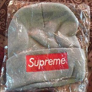 Unisex Supreme Style Beanie Box Logo Winters Knit